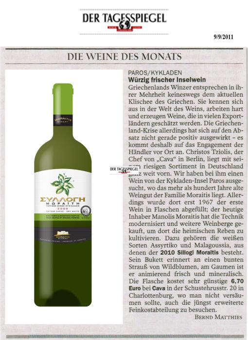 Cava_Tagesspiegel_09-09-2011_WdM