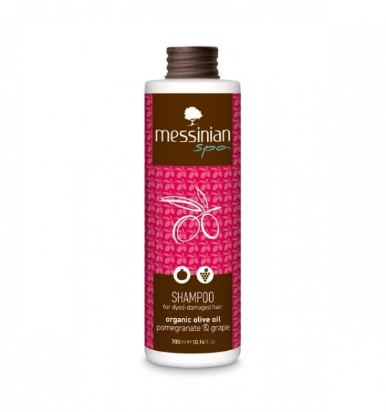 Shampoo Granatapfel & Weintraube für angegriffenes Haar, 300ml
